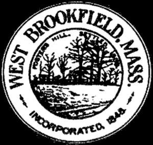 West Brookfield, Massachusetts - Image: West Brookfield MA seal