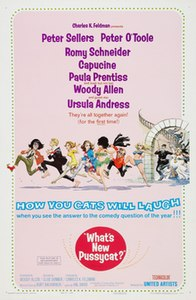 <i>Whats New Pussycat?</i> 1965 comedy film directed by Clive Donner