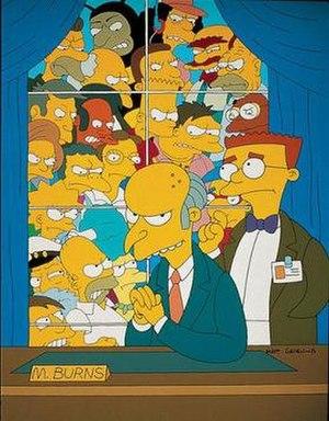 Who Shot Mr. Burns? - Image: Who Shot Mr Burns promo
