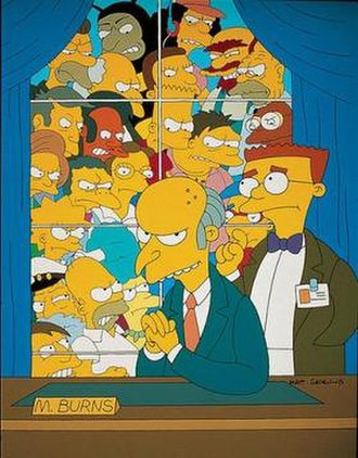 Who Shot Mr. Burns? - Image: Who Shot Mr Burns promo
