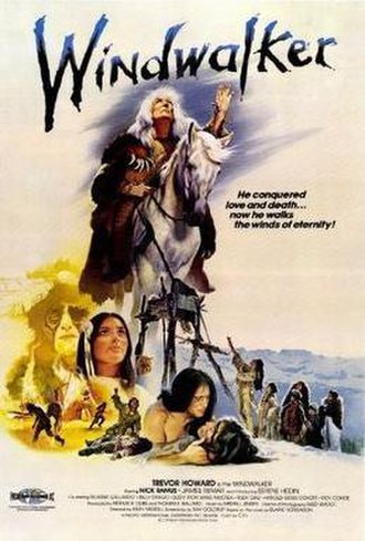 Windwalker (film) - He conquered love and death...now he walks the winds of eternity!