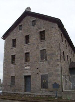 Thorold - Welland Mills before restoration