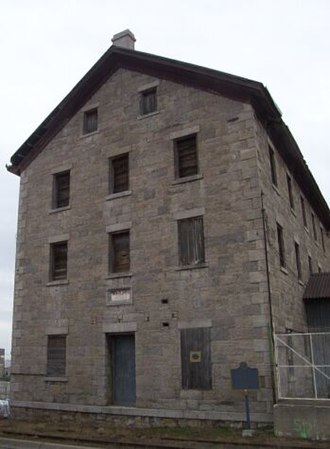 Thorold - Welland Mills before restoration