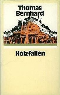 <i>Woodcutters</i> (novel) novel by Thomas Bernhard