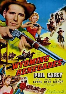 <i>Wyoming Renegades</i> 1954 film by Fred F. Sears