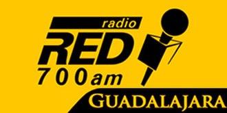XEDKR-AM - Image: XEDKR Radio Red 700 logo