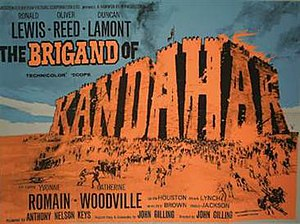 The Brigand of Kandahar - UK theatrical poster