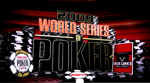 2009 World Series of Poker - ESPN's World Series of Poker title screen