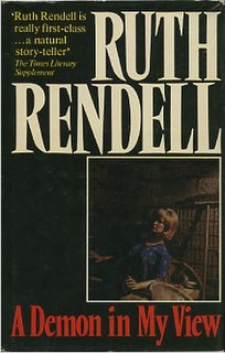 <i>A Demon in My View</i> book by Ruth Rendell