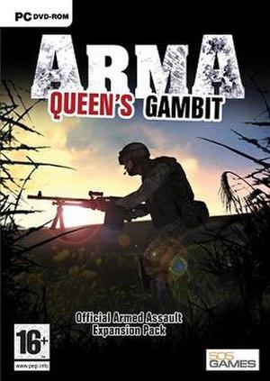 ARMA: Queen's Gambit - Image: ARMA Queen's Gambit cover