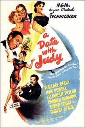 A Date with Judy (film) - A Date with Judy film poster