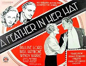 A Feather in Her Hat - 1935 US Theatrical Poster
