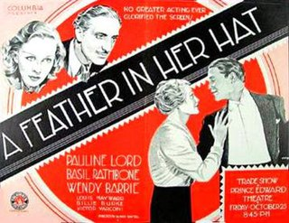 <i>A Feather in Her Hat</i> 1935 film by Alfred Santell