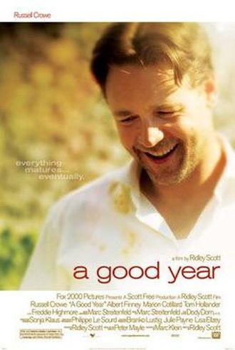 A Good Year - Theatrical release poster