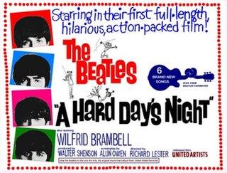 <i>A Hard Days Night</i> (film) 1964 film by Richard Lester