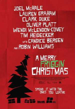 A Merry Friggin' Christmas - Theatrical release poster