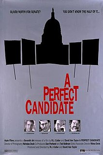<i>A Perfect Candidate</i> 1996 film by R. J. Cutler