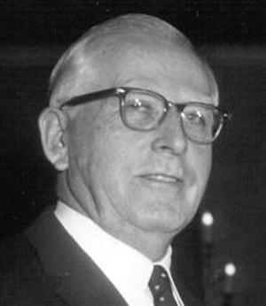 Abraham Vereide - Vereide in 1960