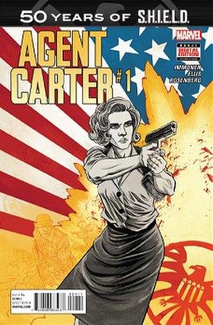 Agent Carter: S.H.I.E.L.D. 50th Anniversary - Image: Agent Carter 50th anniversary cover