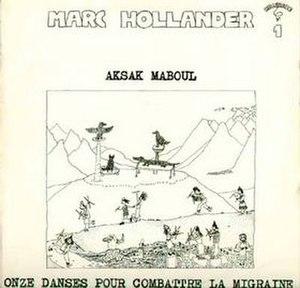 Onze Danses Pour Combattre la Migraine - Image: Aksak Maboul Album Cover Onze Danses(1977)