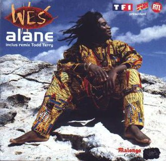 Alane (song) - Image: Alane (Wes Madiko single cover art)