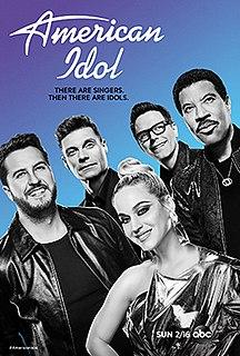 <i>American Idol</i> (season 18) Eighteenth season (2020) of the American reality show singing competition