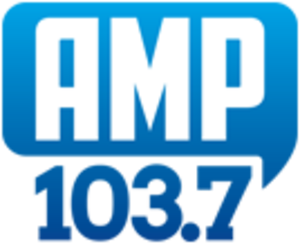 KVIL - Previous Amp 103.7 logo.