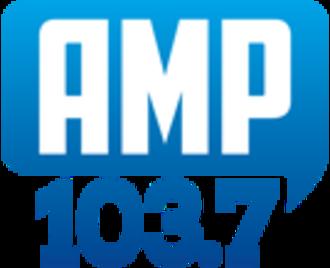 KVIL - Previous Amp 103.7 logo.