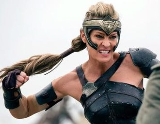 Antiope (comics) - Robin Wright as Antiope in Wonder Woman (2017)