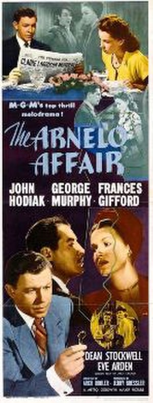 The Arnelo Affair - Theatrical release poster