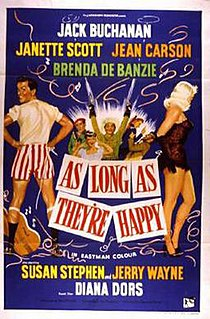 <i>As Long as Theyre Happy</i> 1955 film by J. Lee Thompson