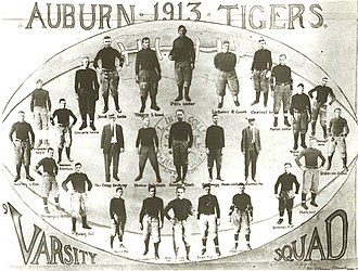1913 Auburn Tigers football team - Image: Auburn Tigers football team (1913)