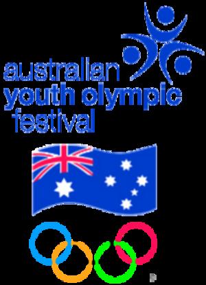 Australian Youth Olympic Festival - Image: Australian Youth Olympic Festival logo