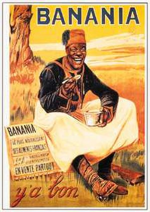 Banania - The logo used by the original company in 1915