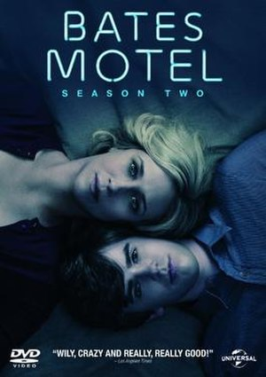 Bates Motel (season 2) - Promotional poster and home media cover art