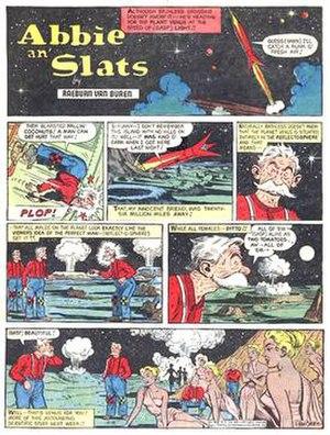 Abbie an' Slats - Raeburn Van Buren's Abbie an' Slats (April 14, 1956)