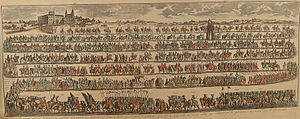 Papal coronation - Procession for the possessio of Pope Benedict XIII