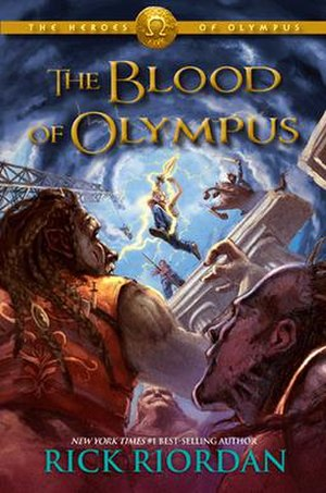 The Blood of Olympus - First edition cover