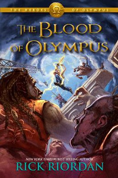 Picture of a book: The Blood Of Olympus