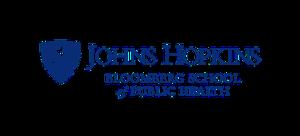 Johns Hopkins Bloomberg School of Public Health - Image: Bloomberg.logo.small .horizontal.blue