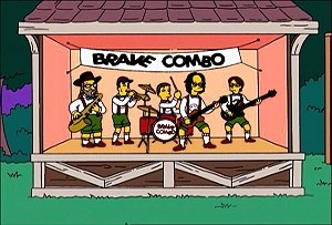 Brave Combo - Brave Combo on The Simpsons