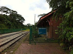 Bukit Timah railway station - Image: Bukit Timah railway station following closure long shot