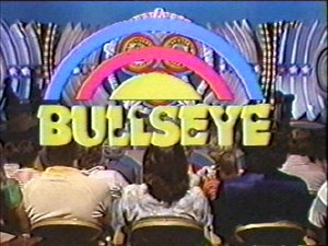 Bullseye (1980 U.S. game show) - Image: Bullseyetitlelogo