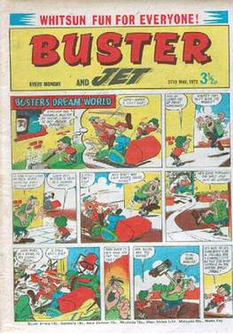 Buster (comics) - Buster and Jet (1972)