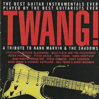 Twang! - Image: CD cover of the Twang! recording
