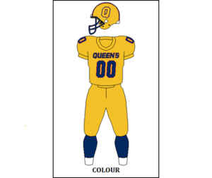 Queen's Gaels football - Image: CIS QU Jersey