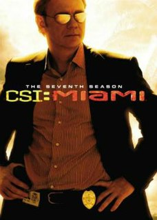 <i>CSI: Miami</i> (season 7) Season of American television series CSI: Miami