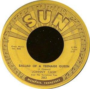 Ballad of a Teenage Queen - Image: Cash Ballad of Teenage Queen
