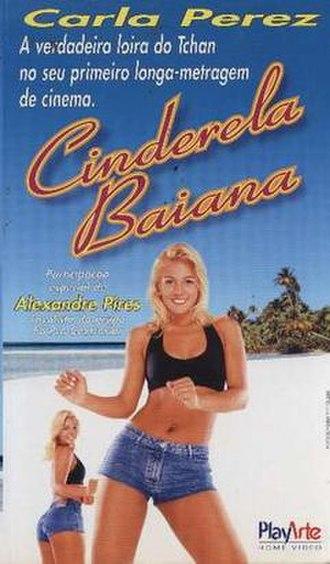 Cinderela Baiana - VHS cover