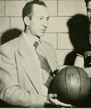 Tom Scott (coach) - Scott pictured in Yackety yak 1947, UNC yearbook